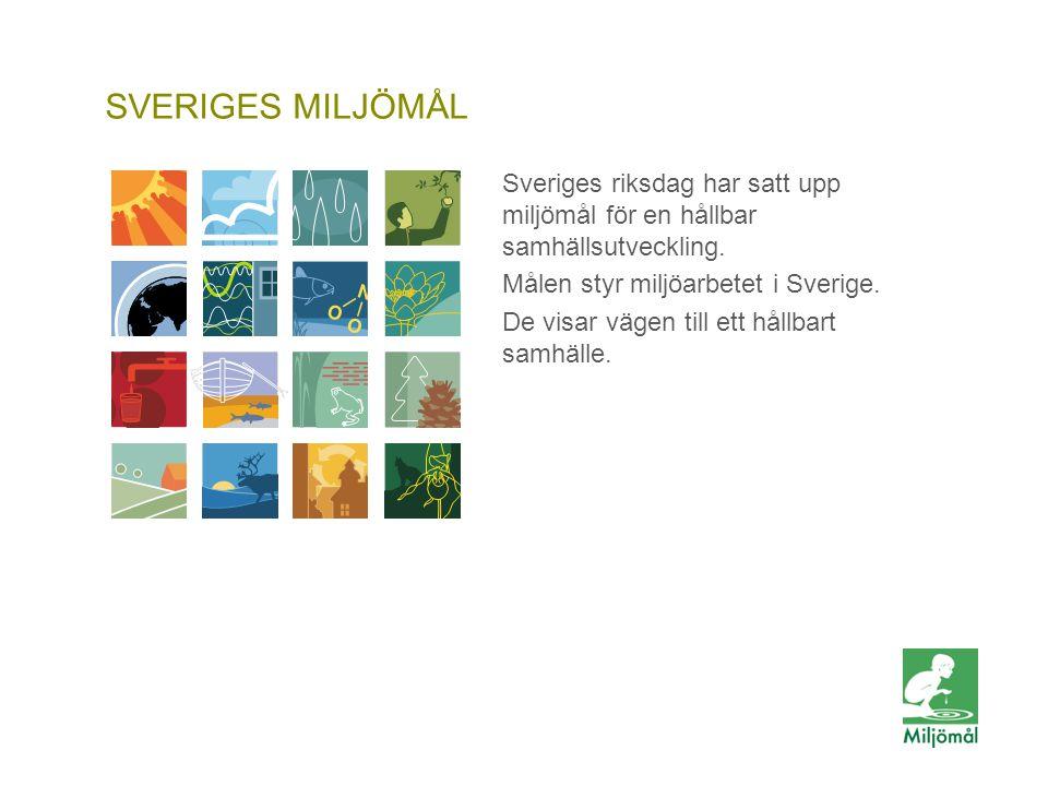 Generationsmål SVERIGES MILJÖMÅL