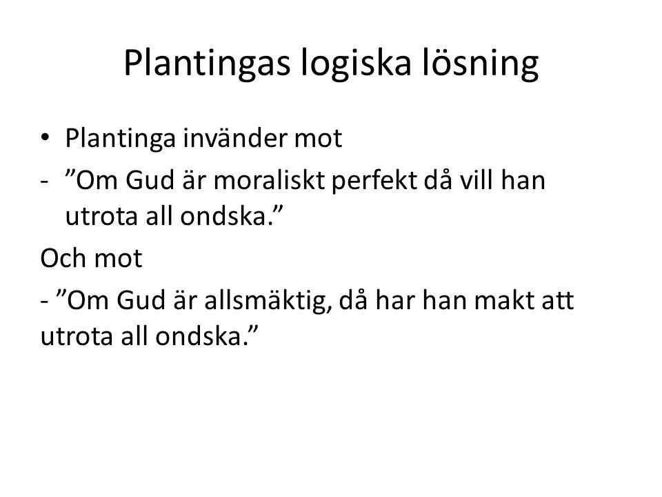 Plantingas logiska lösning
