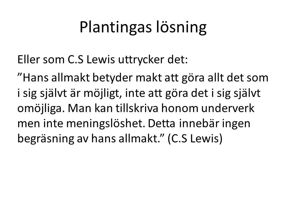 Plantingas lösning