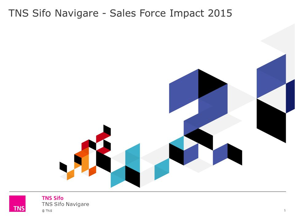 TNS Sifo Navigare - Sales Force Impact 2015