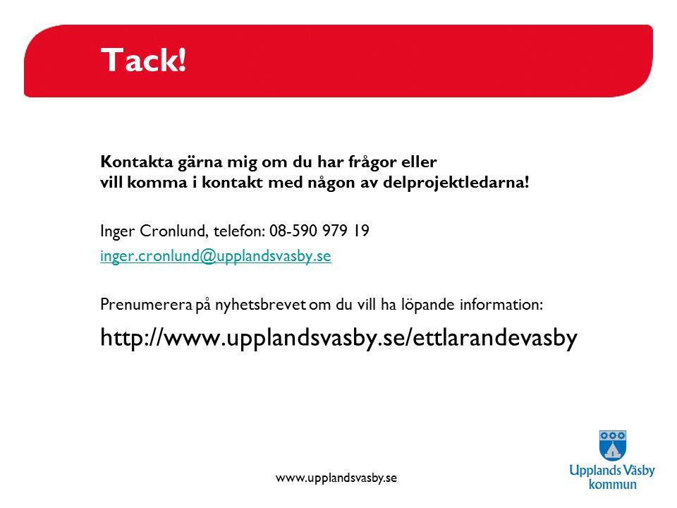 Tack! http://www.upplandsvasby.se/ettlarandevasby