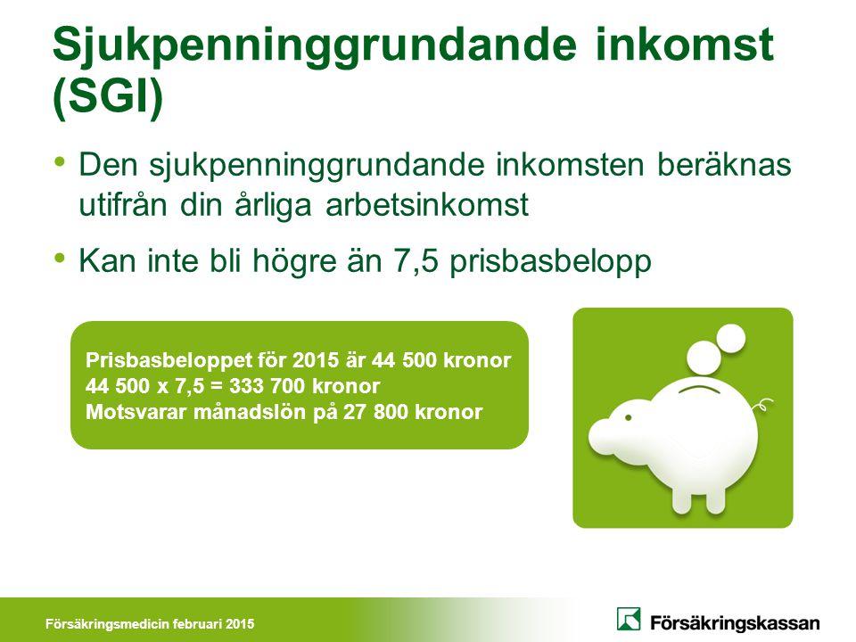 Sjukpenninggrundande inkomst (SGI)