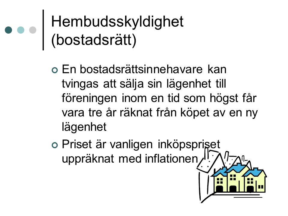 Hembudsskyldighet (bostadsrätt)