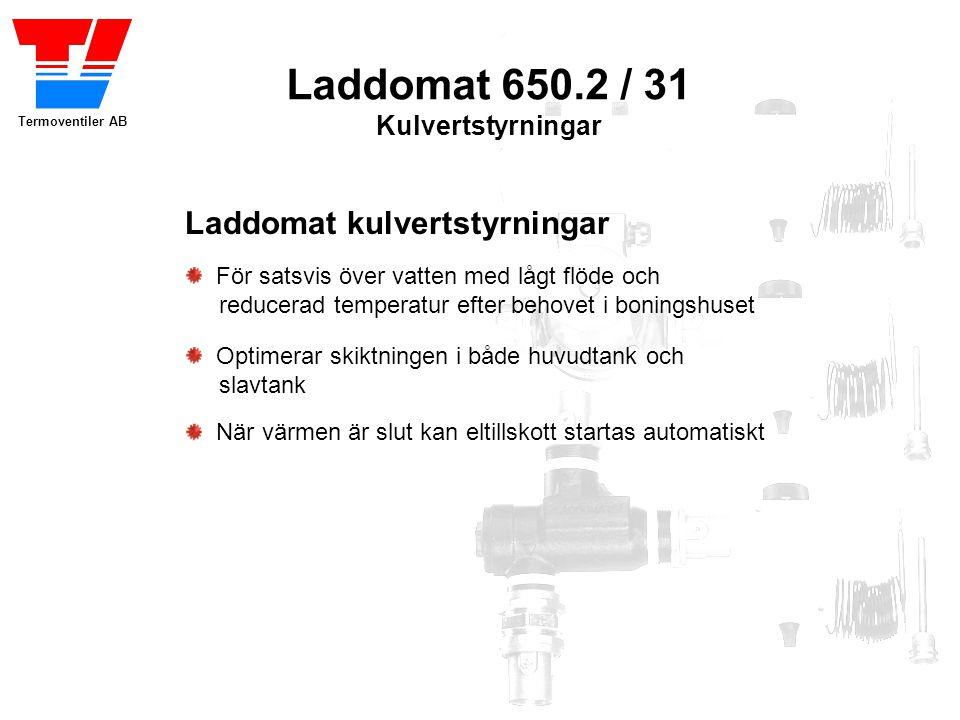 Laddomat 650.2 / 31 Kulvertstyrningar Laddomat kulvertstyrningar