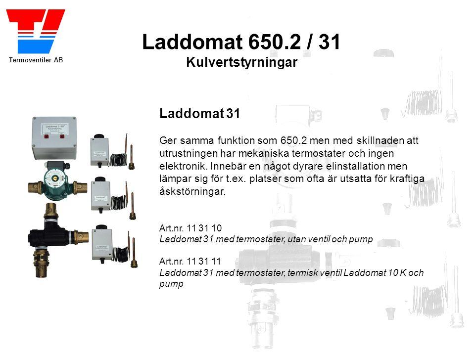 Laddomat 650.2 / 31 Kulvertstyrningar