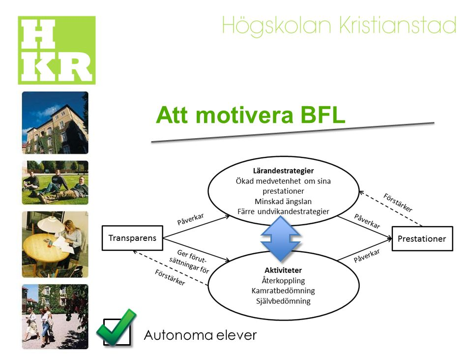 Att motivera BFL Autonoma elever