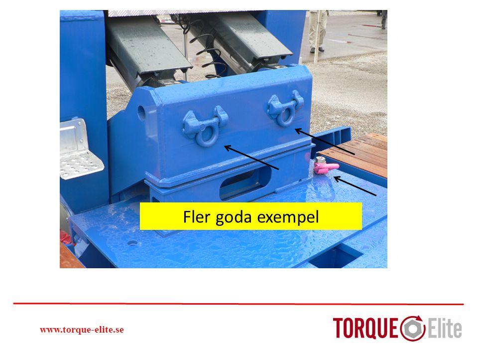 Fler goda exempel www.torque-elite.se