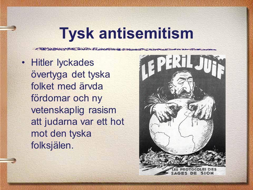 Tysk antisemitism