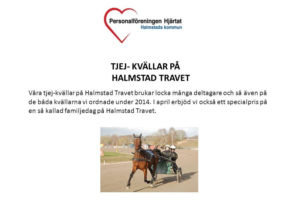 TJEJ- KVÄLLAR PÅ HALMSTAD TRAVET