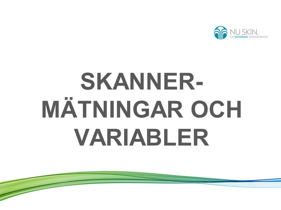 SKANNER-MÄTNINGAR OCH VARIABLER