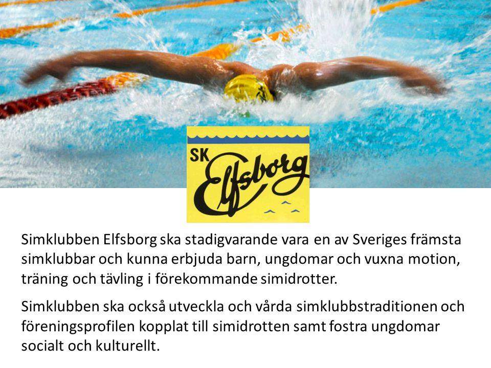 Simklubben Elfsborg ska stadigvarande vara en av Sveriges främsta simklubbar och kunna erbjuda barn, ungdomar och vuxna motion, träning och tävling i förekommande simidrotter.