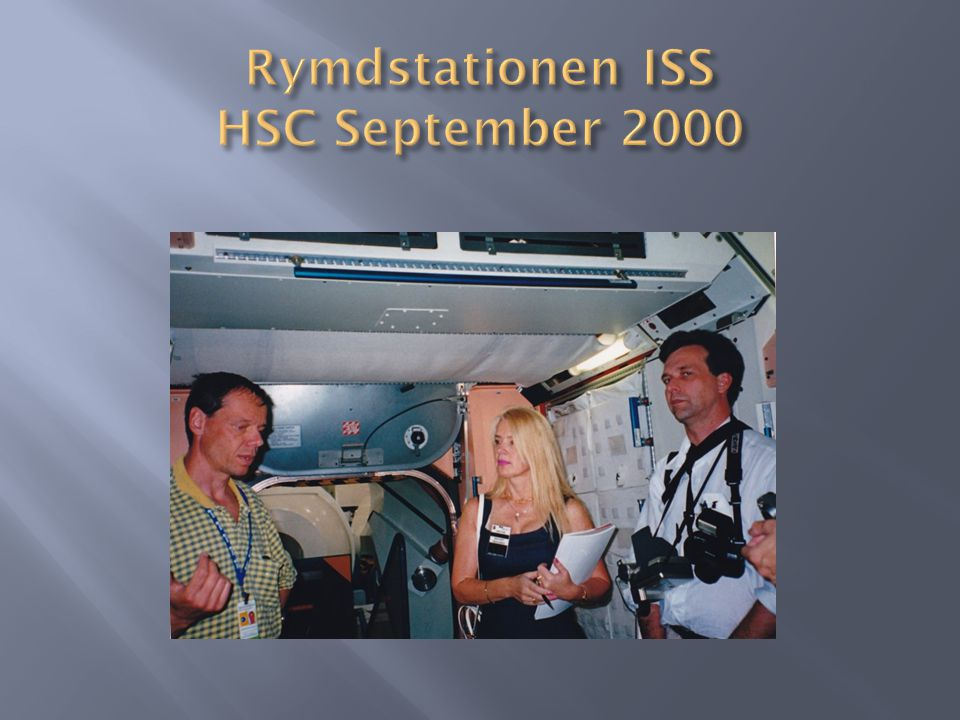 Rymdstationen ISS HSC September 2000