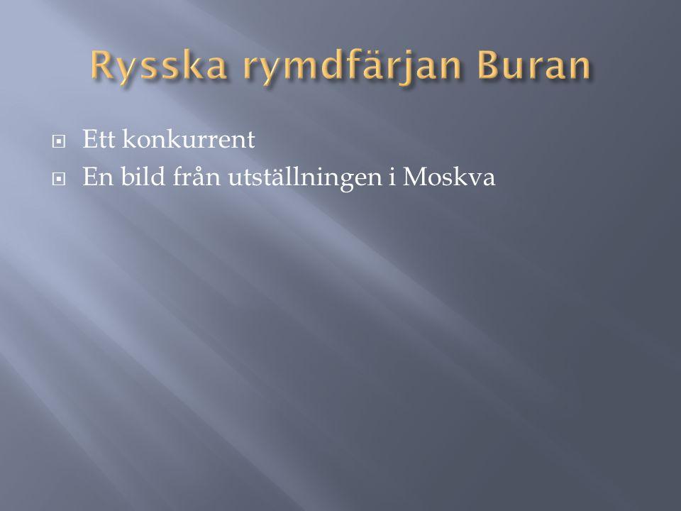 Rysska rymdfärjan Buran