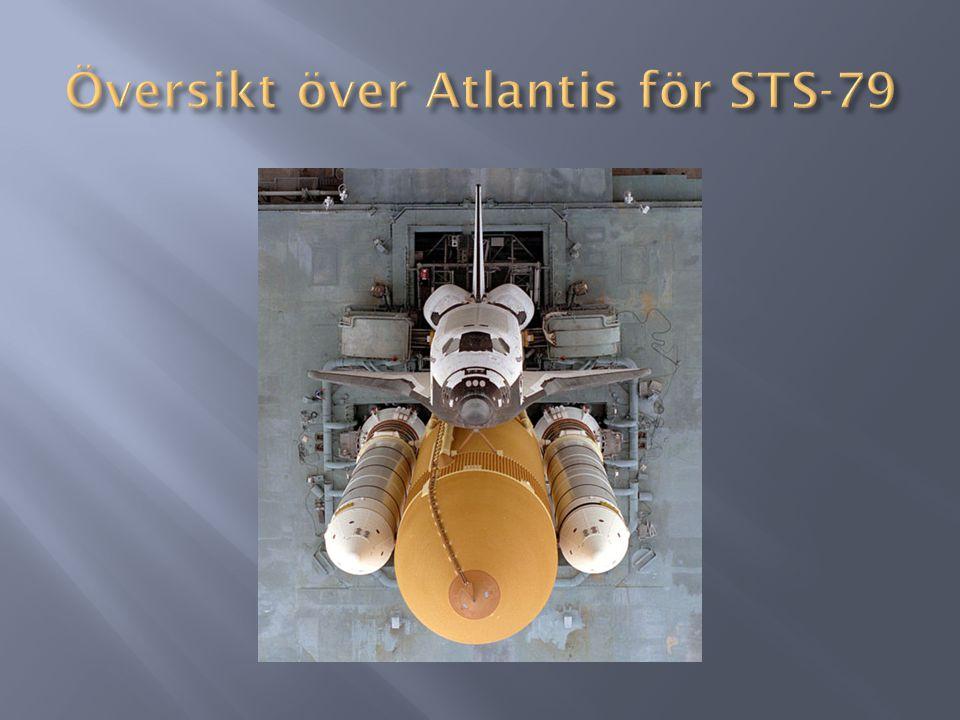 Översikt över Atlantis för STS-79