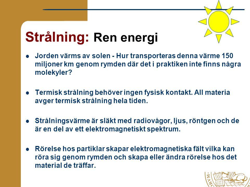 Strålning: Ren energi