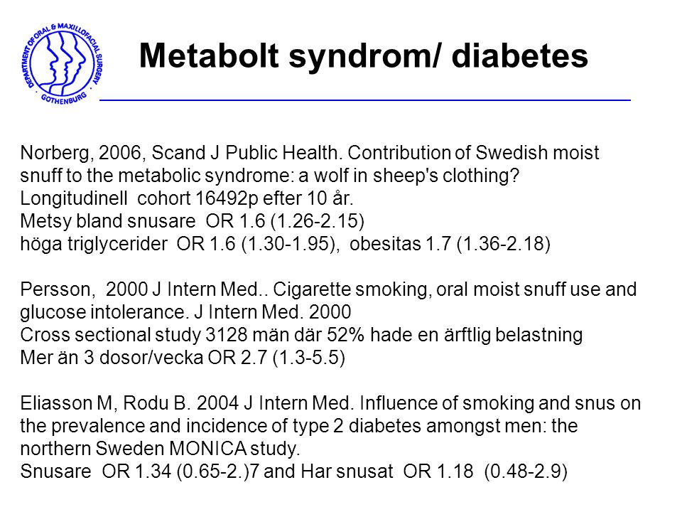 Metabolt syndrom/ diabetes