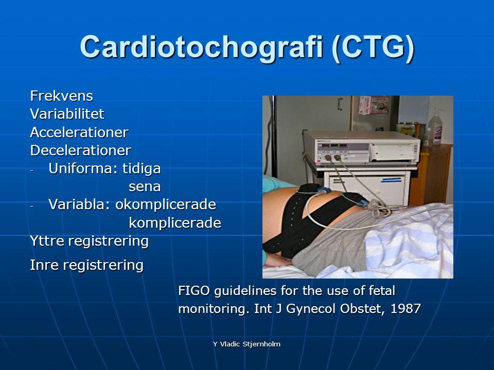 Cardiotochografi (CTG)