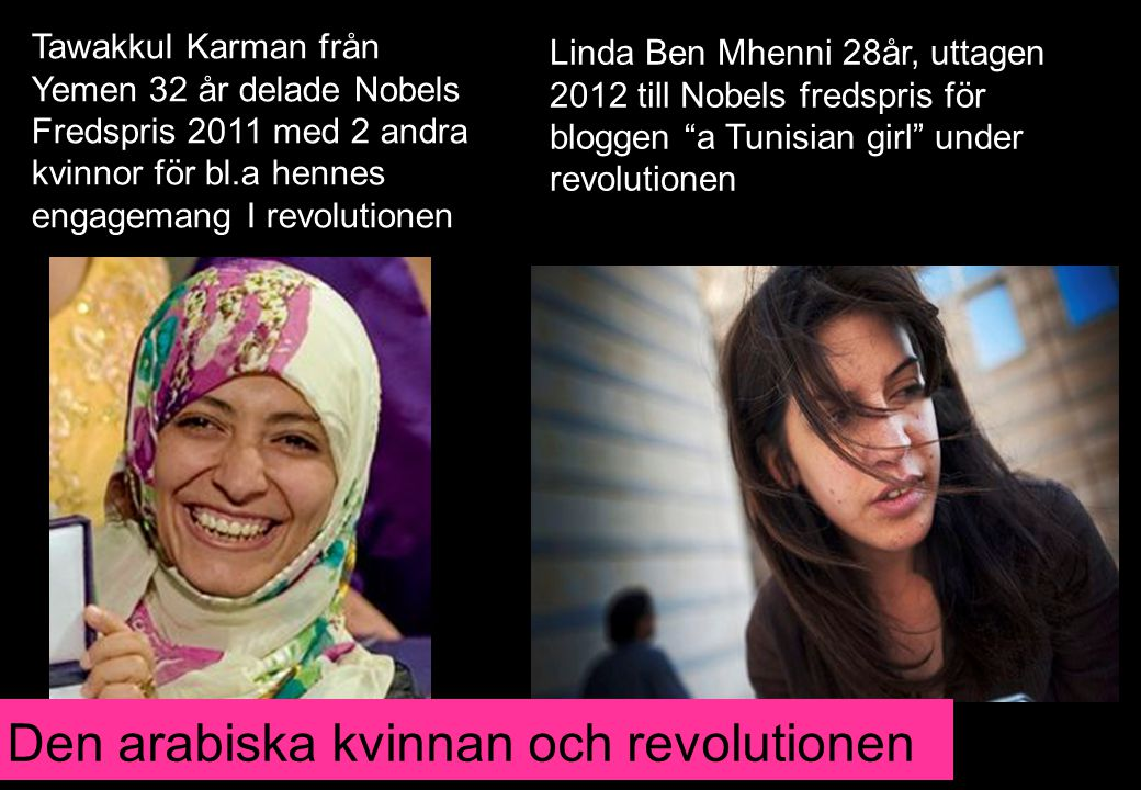Den arabiska kvinnan och revolutionen
