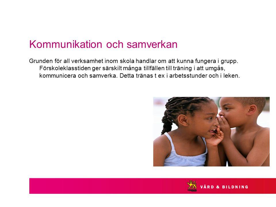 Kommunikation och samverkan