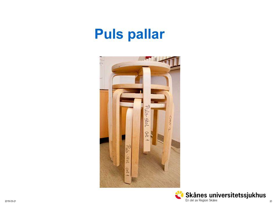 Puls pallar