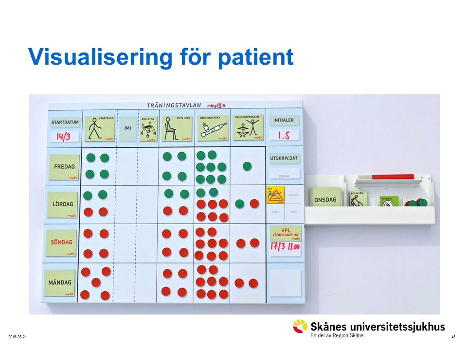 Visualisering för patient