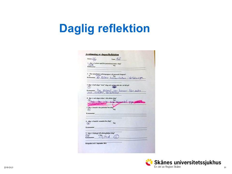 Daglig reflektion