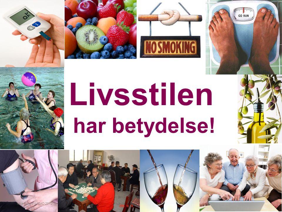 Livsstilen har betydelse! Miia Kivipelto ICAD 2010