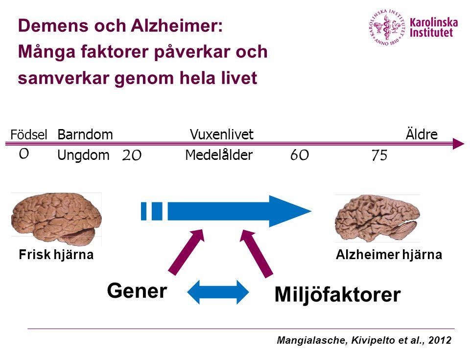 Alzheimer's Disease Surging Across Scandinavia