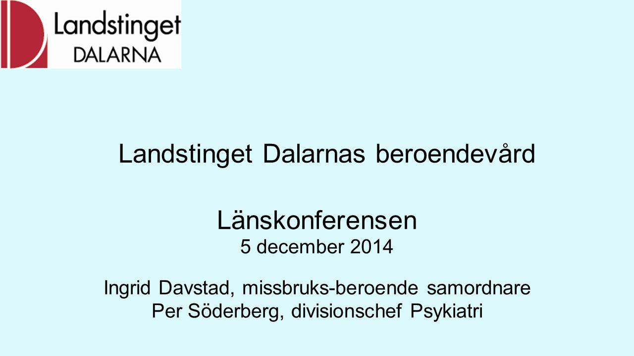 Landstinget Dalarnas beroendevård