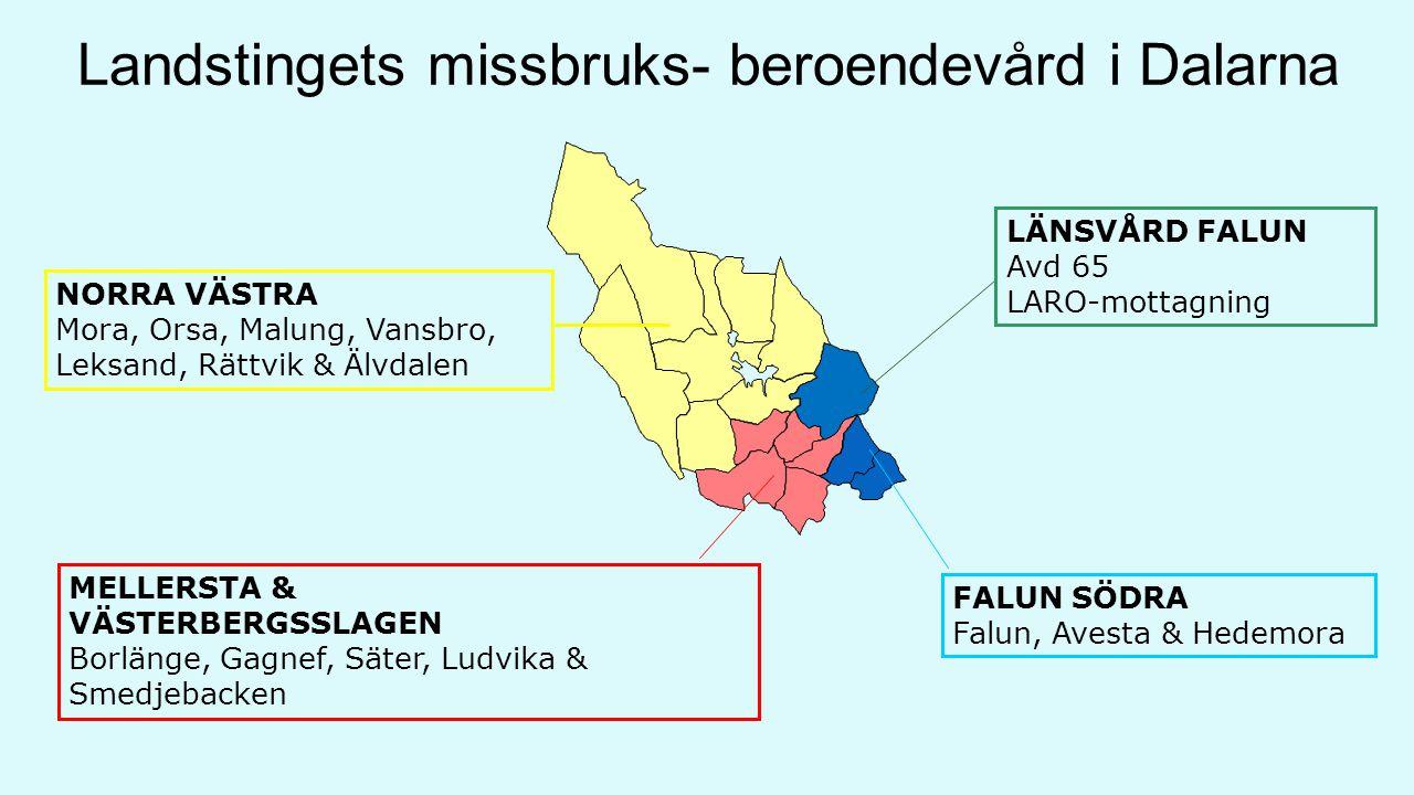 Landstingets missbruks- beroendevård i Dalarna