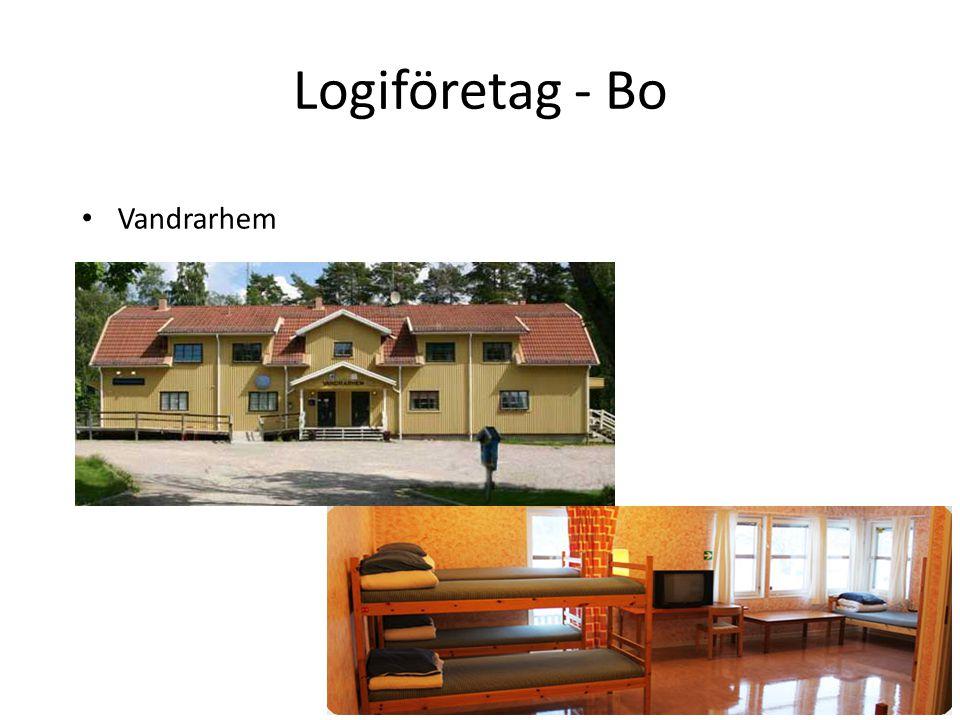 Logiföretag - Bo Vandrarhem