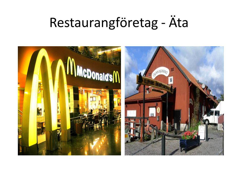 Restaurangföretag - Äta
