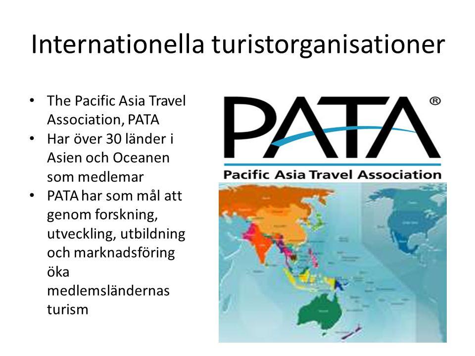 Internationella turistorganisationer