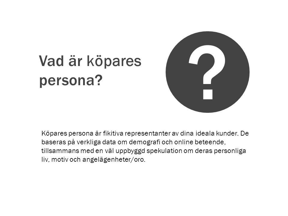 Vad är köpares persona
