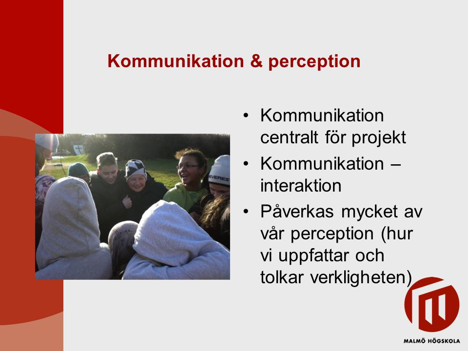 Kommunikation & perception