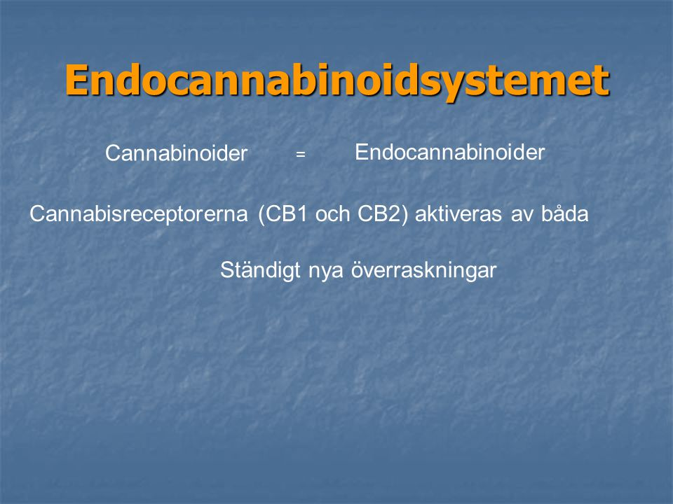 Endocannabinoidsystemet