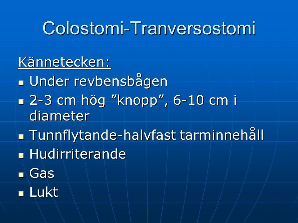 Colostomi-Tranversostomi