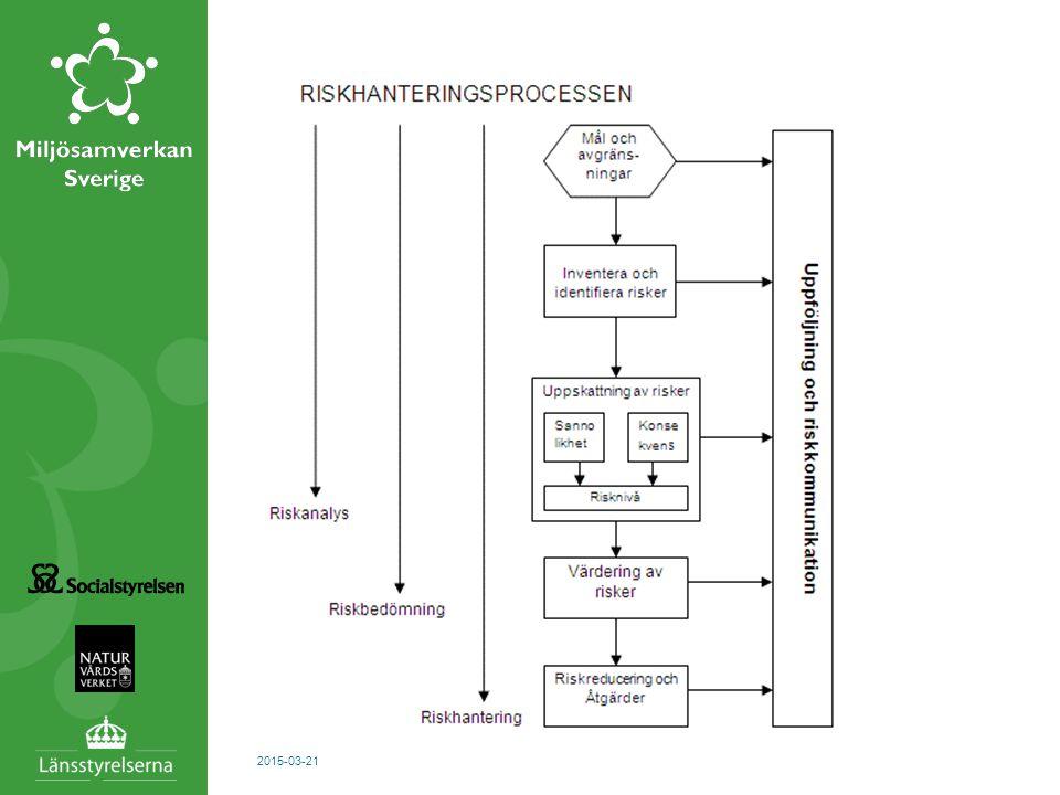 En modell för riskhanteringsprocess