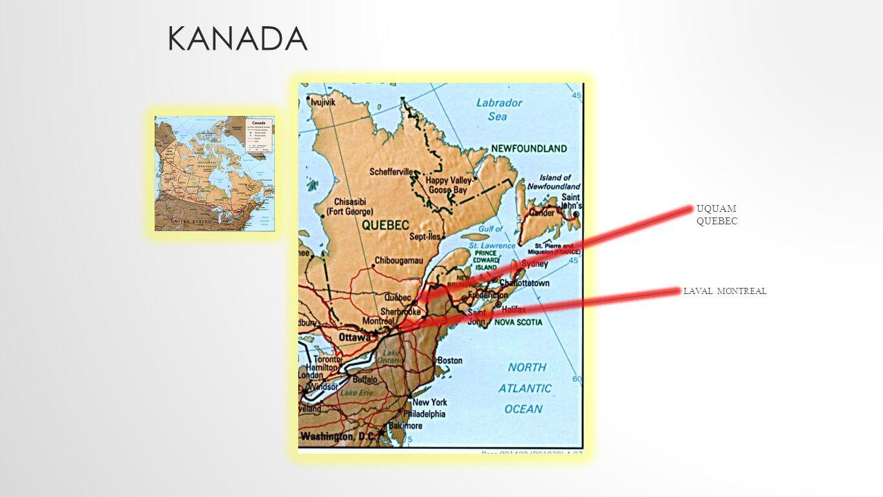 Kanada UQUAM QUEBEC LAVAL MONTREAL