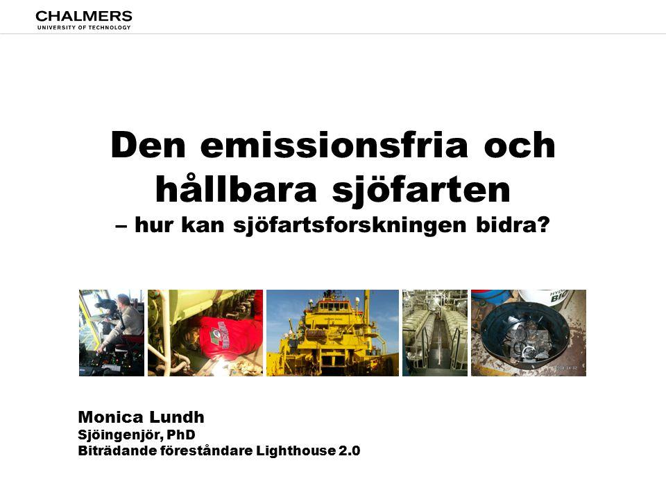 Den emissionsfria och hållbara sjöfarten – hur kan sjöfartsforskningen bidra