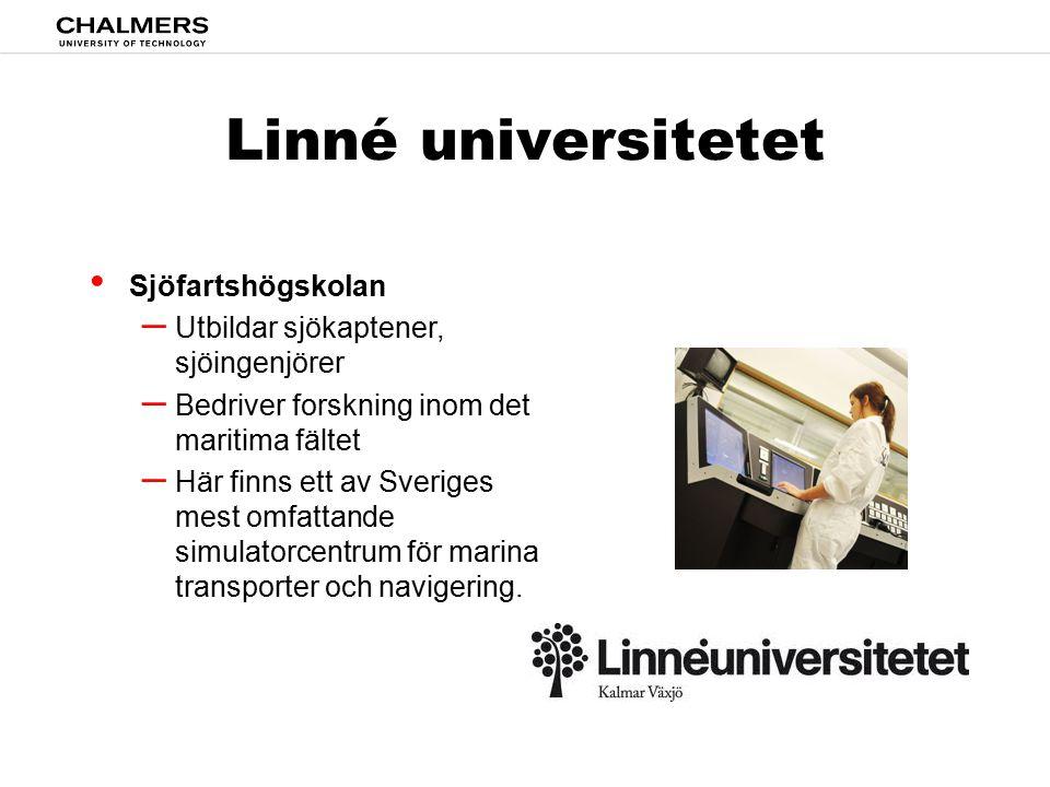 Linné universitetet Sjöfartshögskolan