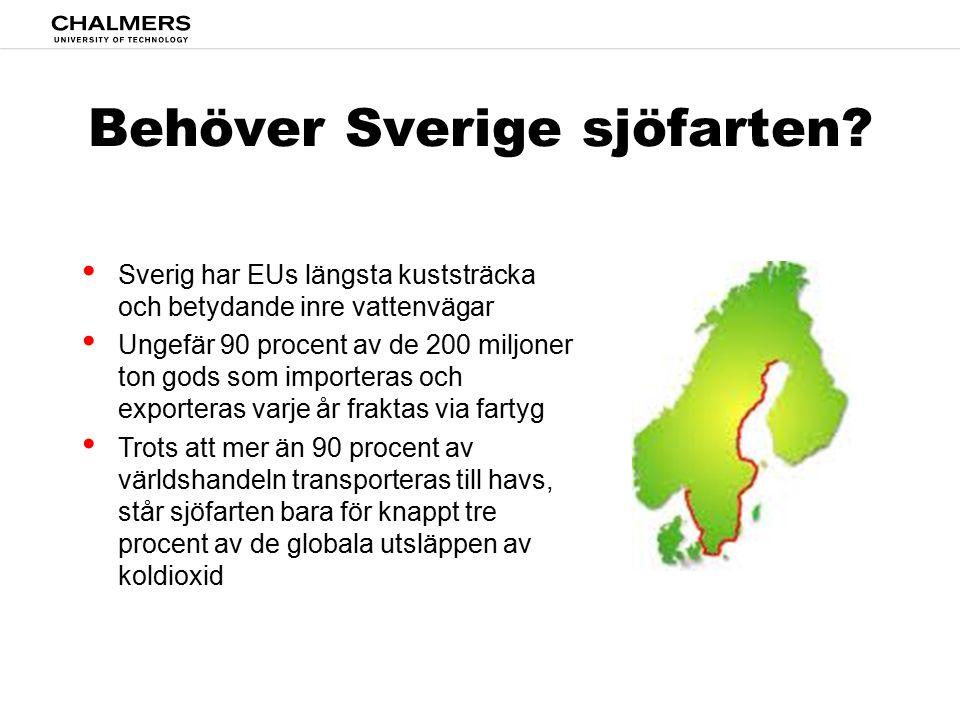 Behöver Sverige sjöfarten