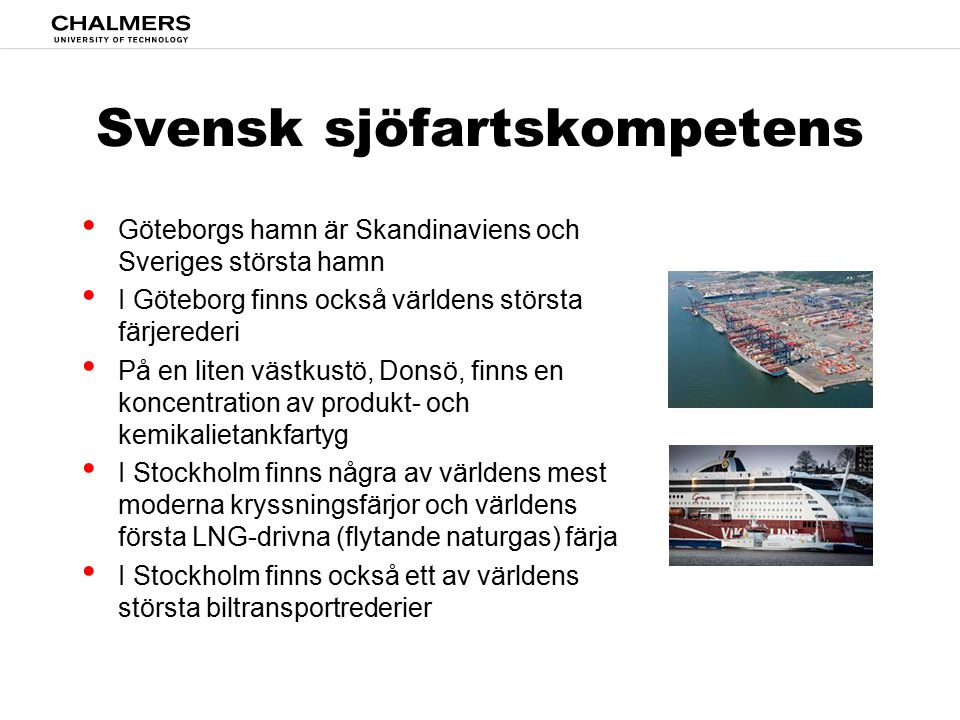Svensk sjöfartskompetens