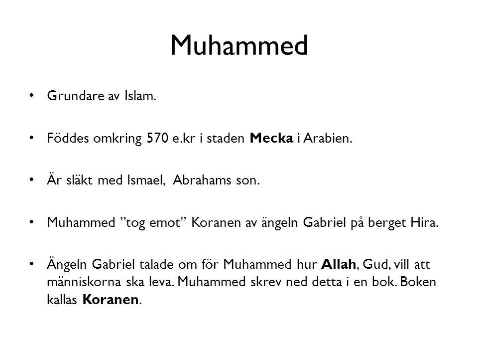 Muhammed Grundare av Islam.