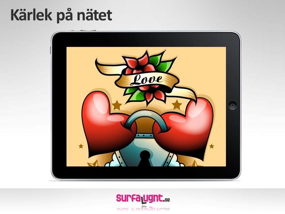Kärlek på nätet När vi läser om internet i media är det ofta fokus på det negativa.