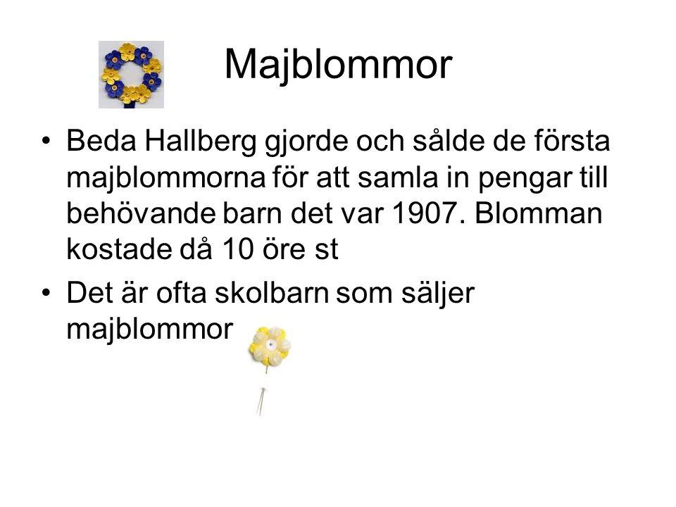 Majblommor