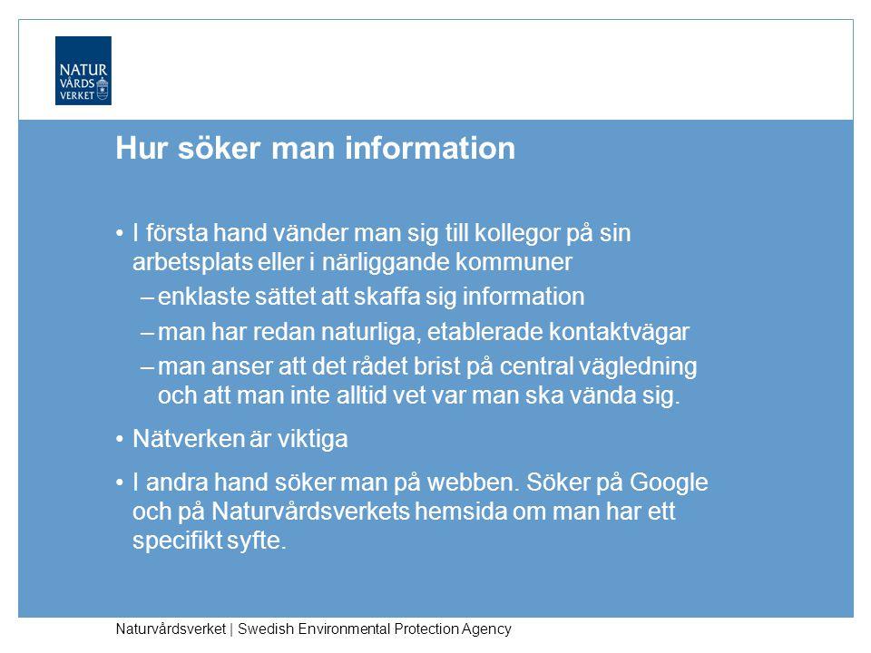 Hur söker man information