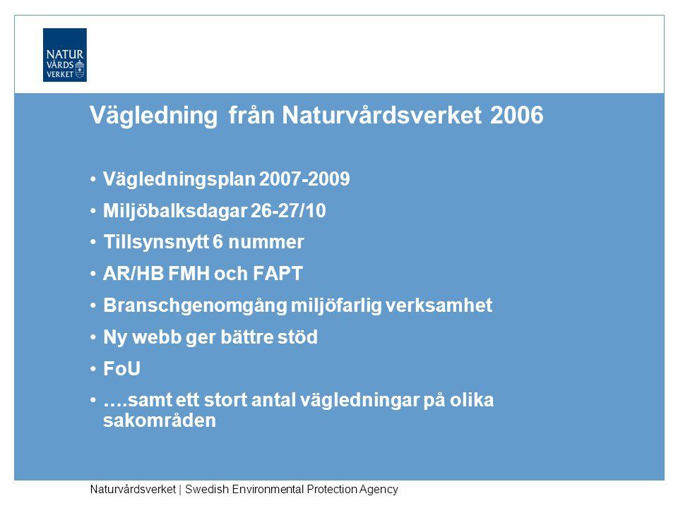 Vägledning från Naturvårdsverket 2006