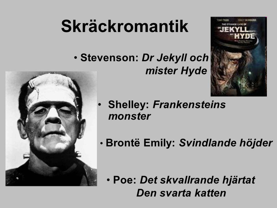 Skräckromantik Stevenson: Dr Jekyll och mister Hyde