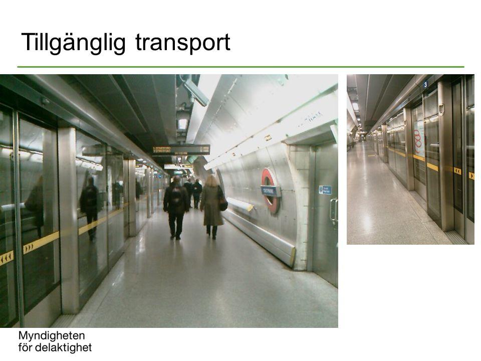Tillgänglig transport